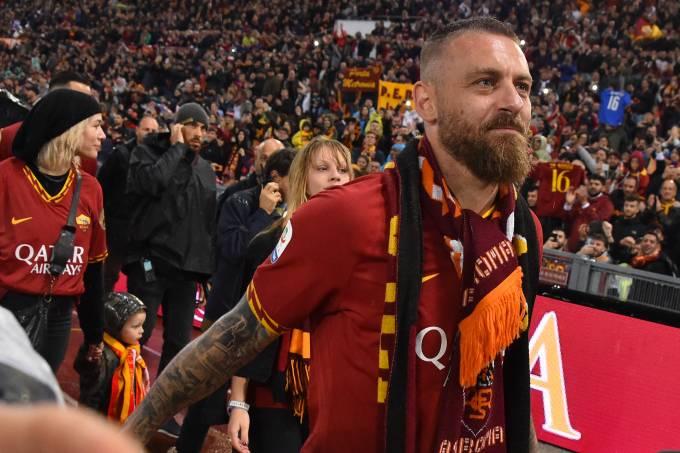 Daniele De Rossi deixou a Roma depois de 18 anos