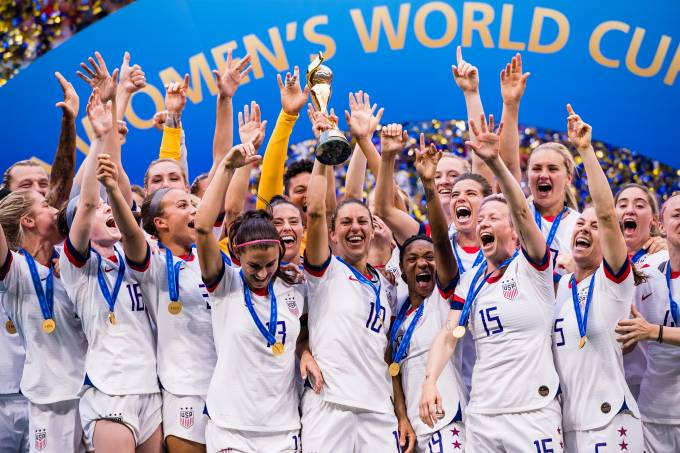 Estados Unidos – Copa do Mundo feminina