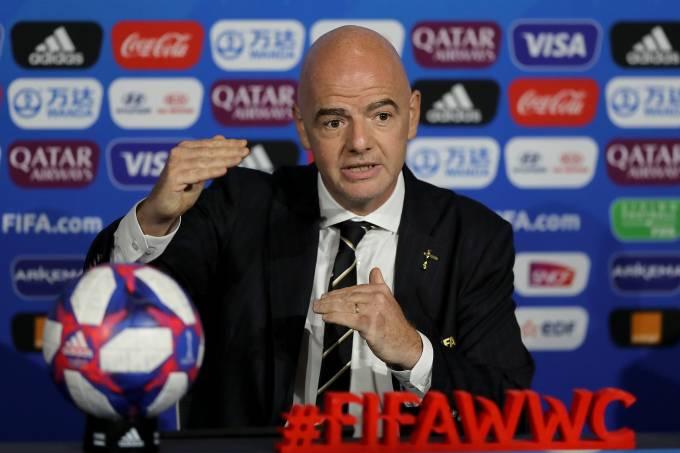 Gianni Infantino FIFA Copa do Mundo feminina