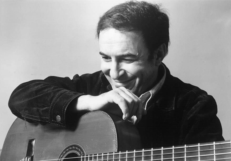 João Gilberto, em 1970
