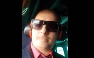 Sobrinho de Bolsonaro em helicóptero da FAB
