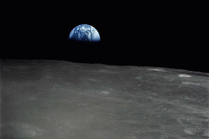 LUA-PLANETA TERRA-NASA