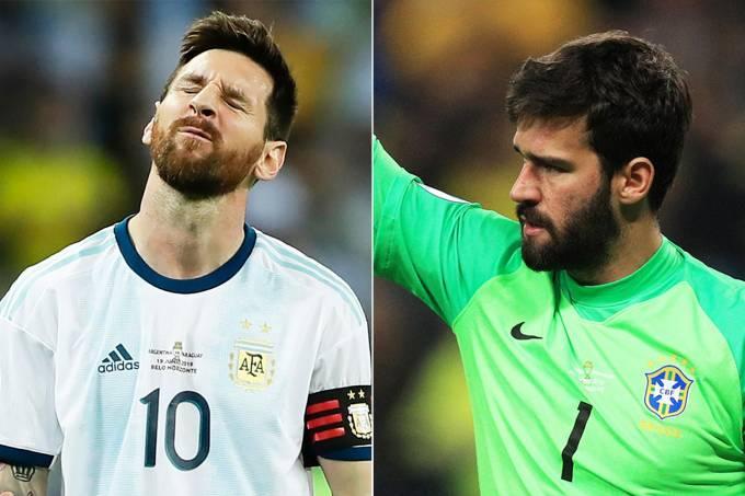 Messi e Alisson
