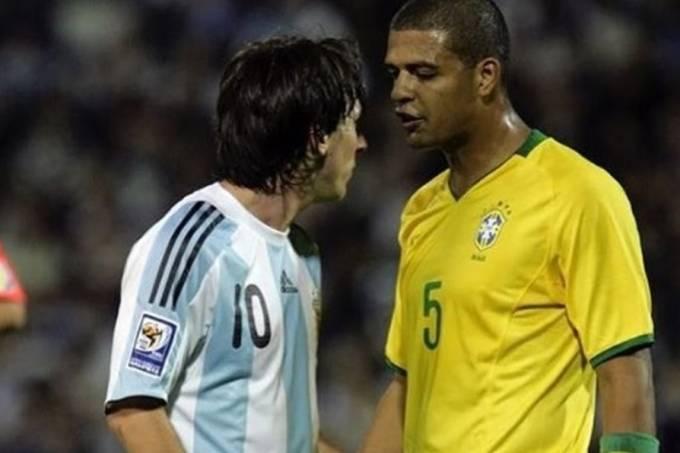 Encarada aconteceu em vitória brasileira em Rosário, em 2009