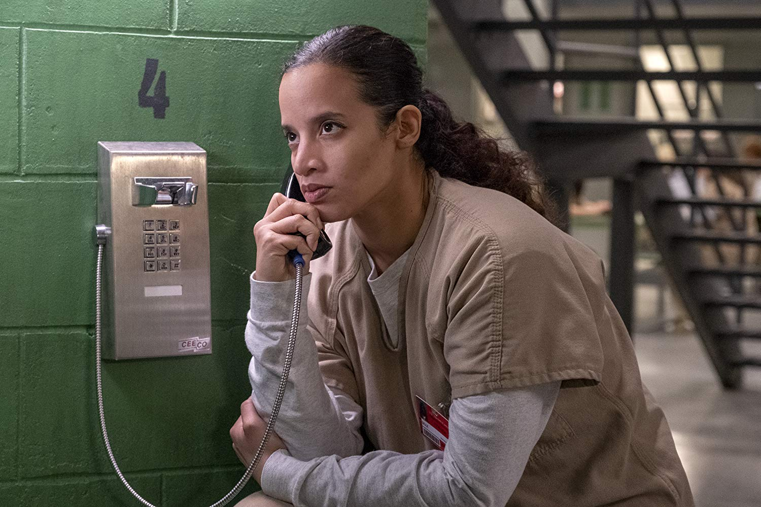 Dascha Polanco como Dayanara Diaz na sétima temporada de 'Orange Is The New Black'
