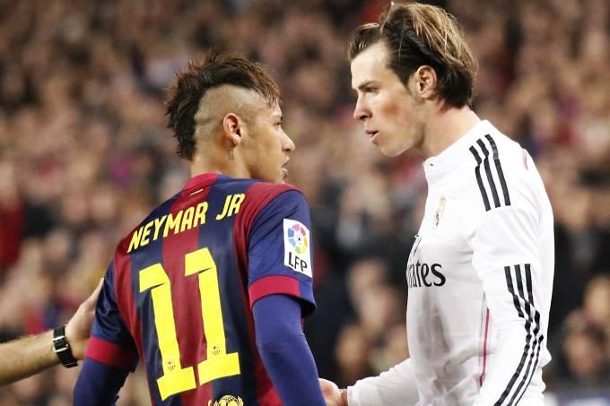 Neymar e Bale foram rivais na Espanha, mas deixaram clubes pela porta de trás
