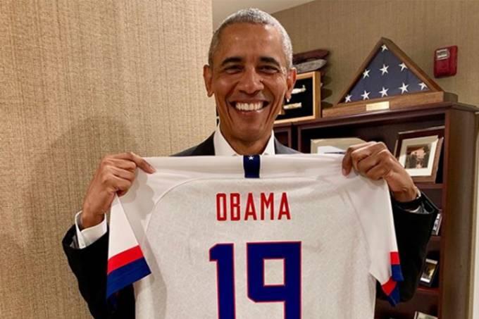 Obama seleção futebol feminino