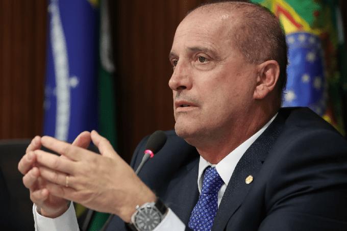 O ministro-chefe da Casa Civil, Onyx Lorenzoni