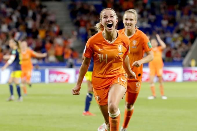 Jackie Groenen Holanda Futebol Feminino Copa do Mundo