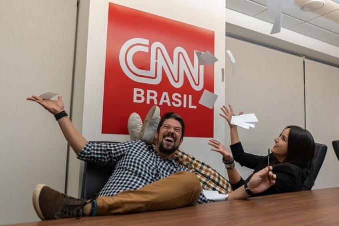 Phelipe Siani e Mari Palma são contratados pela CNN Brasil