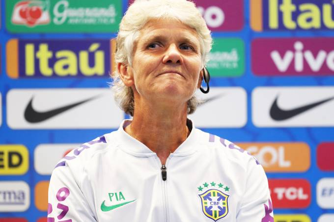 Pia Sundhage unveiled as new Brazil national team coach