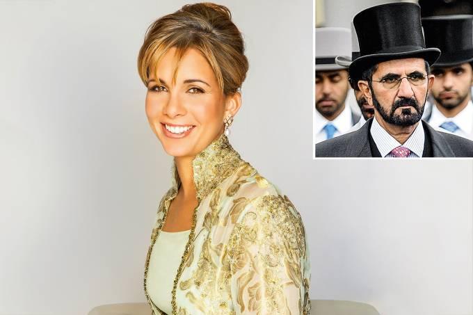 Princesa Haya e Bint Al Hussein