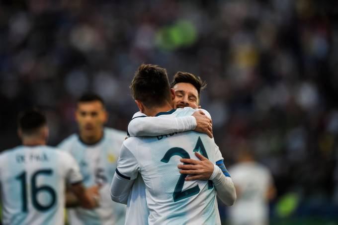 Argentina 2 x 0 Chile – Copa América