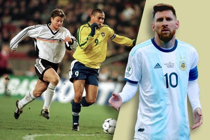 Ronaldo e Messi – O fim dos uniformes de manga longa