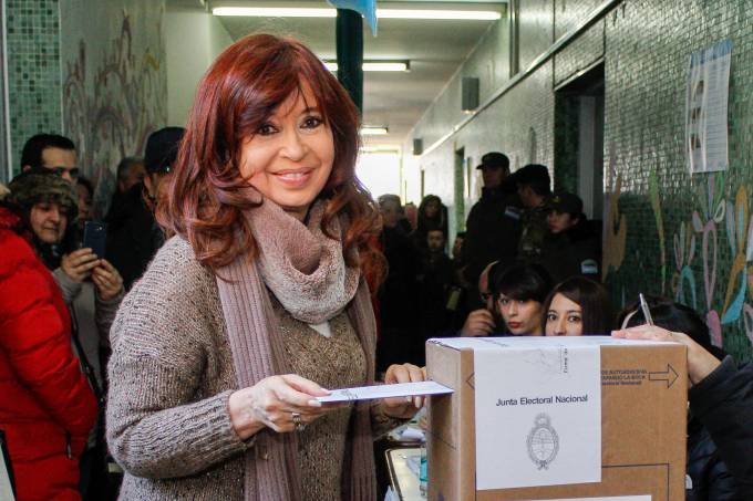 ARGENTINA-PRIMARY-ELECTIONS-KIRCHNER