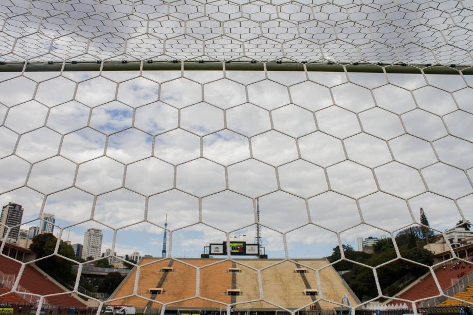 Estádio do Pacaembu, palco do primeiro jogo da final