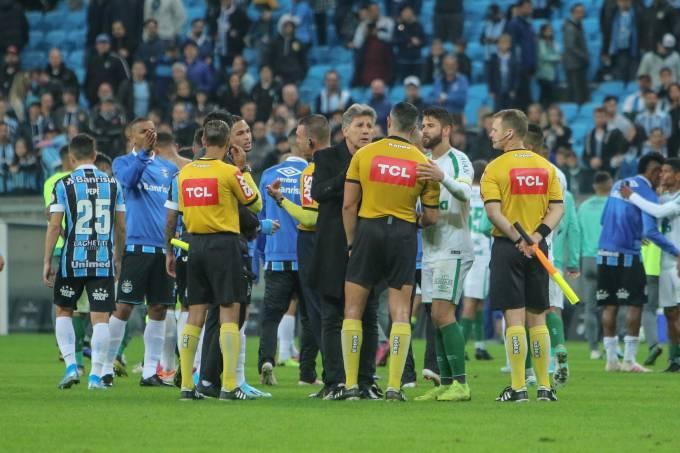 Partida entre Grêmio e Chapecoense