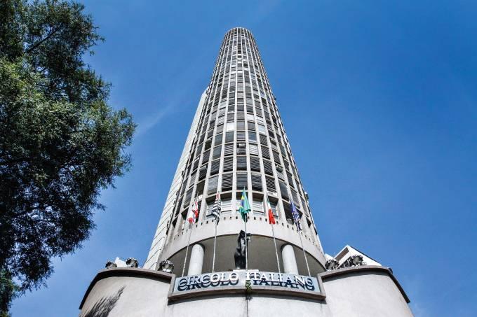 Edificio Italia – São Paulo (SP) – 26.06.2014 – Vista do Edificio Italia, localizado entre as avenidas São Luis e Ipiranga, na região central. Foto: Jose Cordeiro/SPTuris