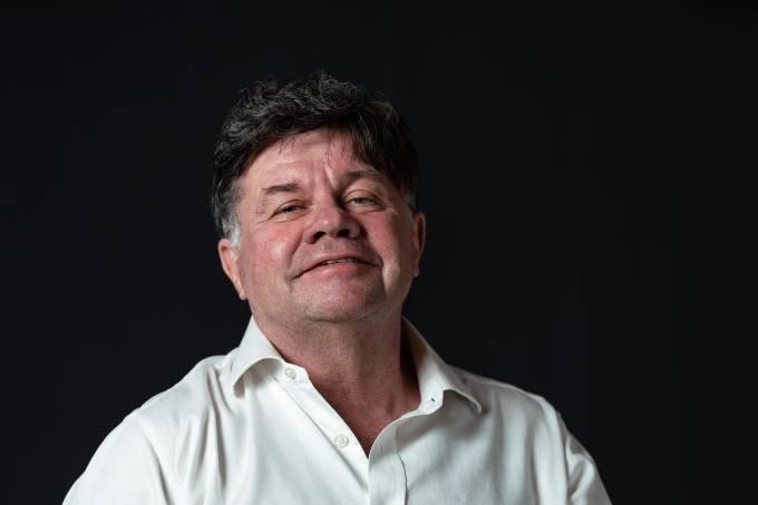 O humorista Marcelo Madureira