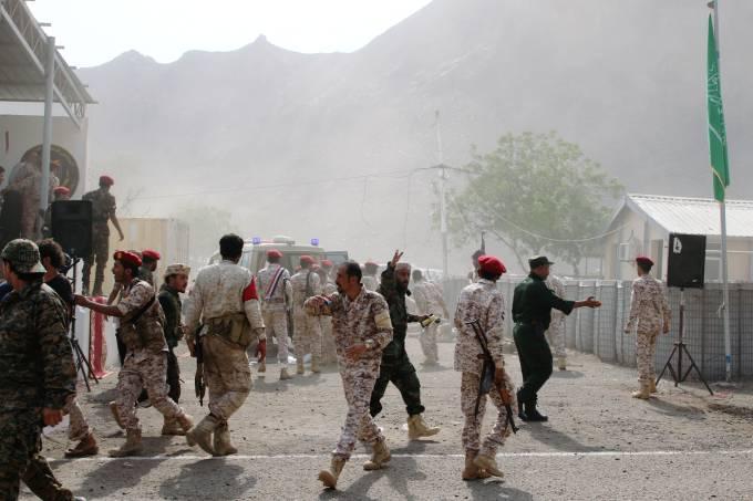 Soldados Iêmen ataque