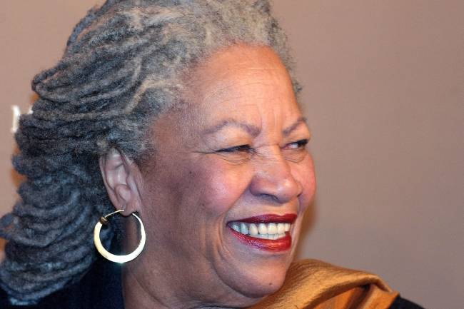A autora americana vencedora do Prêmio Nobel de Literatura Toni Morrison