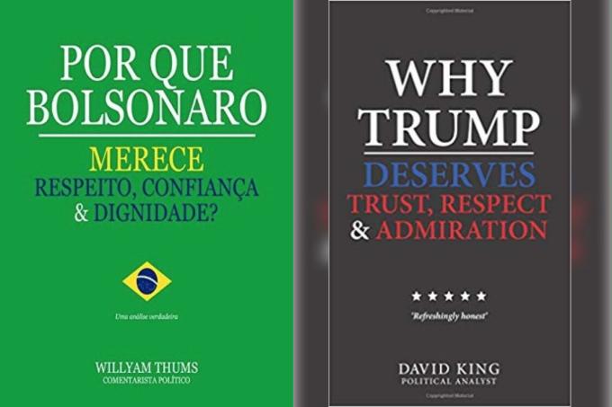 Livro Bolsonaro Trump
