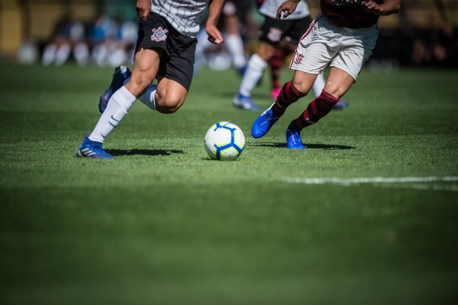 Corinthians e Flamengo pelo primeiro jogo da final do Brasileirão Sub-17