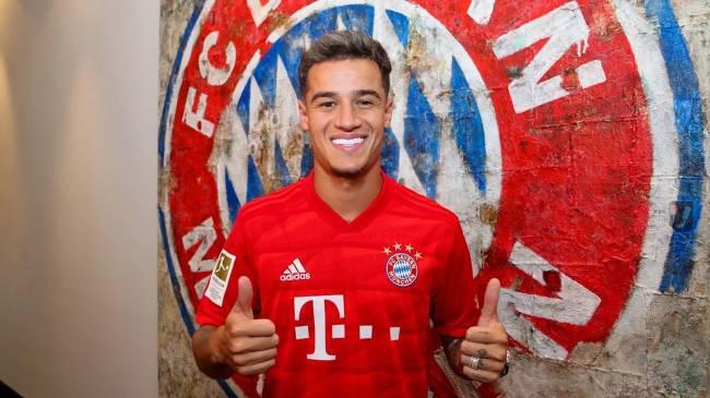 Philippe Coutinho se apresenta ao Bayern de Munique