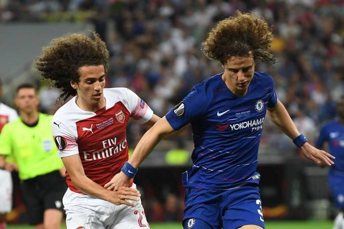 David Luiz se despediu do Chelsea com uma vitória sobre o próprio Arsenal, na final da Liga Europa