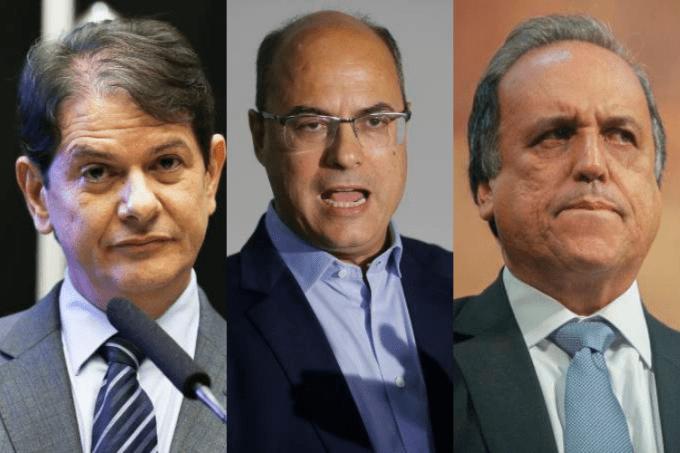 Cid Gomes, Witzel e Pezão