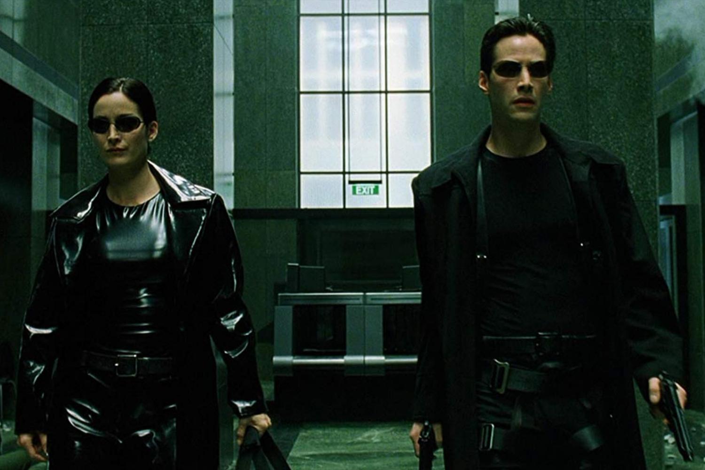 Cena do primeiro filme da saga 'Matrix'