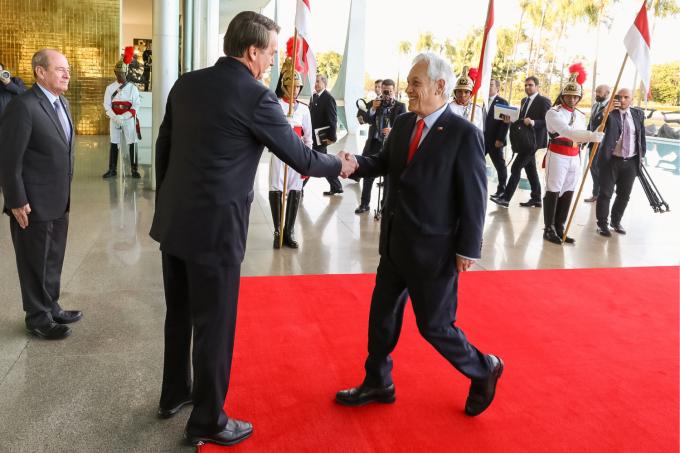 28/08/2019 Visita do Presidente da República do Chile, Senhor
