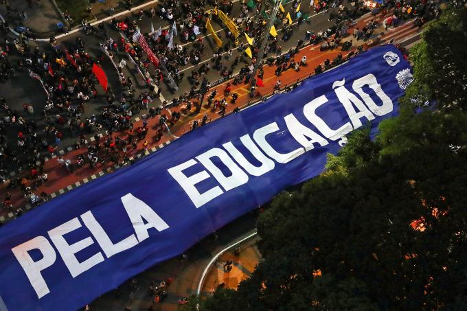 EDUCACAO-UNIVERSIDADES-PROTESTO-JAIR-BOLSONARO-2019
