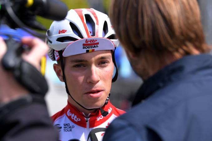 Bjorg Lambrecht durante Tour da Noruega de 2019