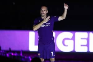 Ribéry teve passagem apagada pela Fiorentina -