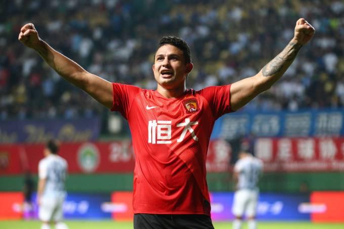 Elkeson já marcou mais de 100 gols pelo Guangzhou Evergrande
