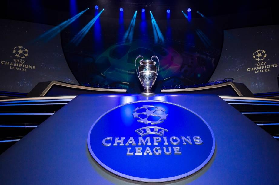 Sorteio da Liga dos Campeões em Mônaco