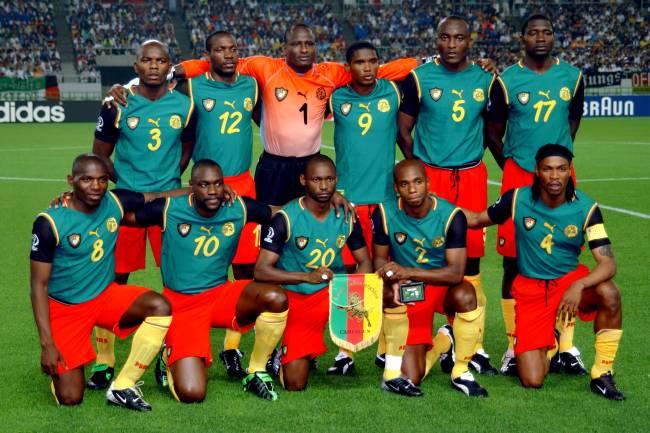 Seleção de Camarões na Copa de 2002