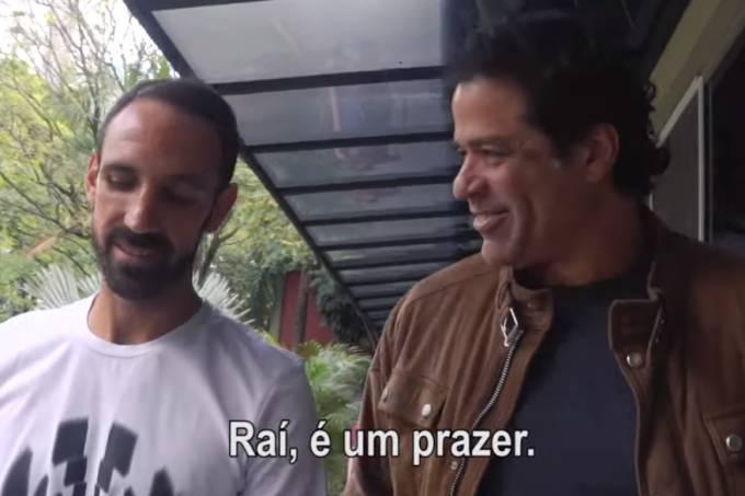 Juanfran foi recebido pelo dirigente Raí no São Paulo
