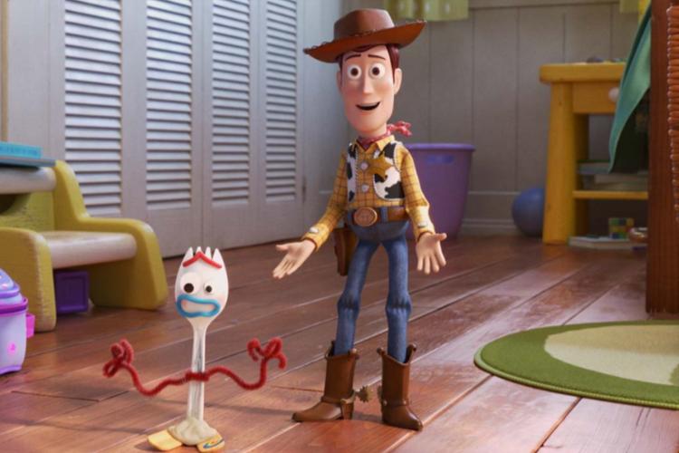 Cena do filme 'Toy Story 4'