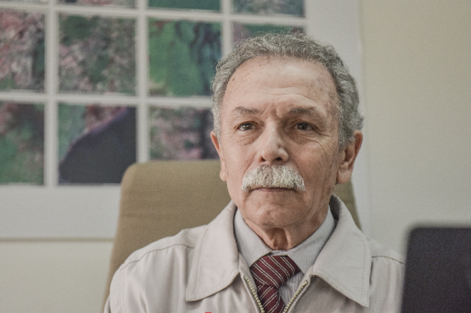 Ricardo Galvão, ex-diretor do Inpe