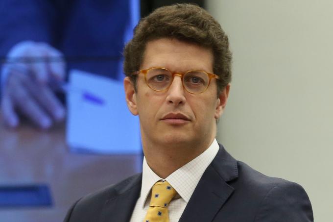 Ricardo Salles participa de audiência pública na Câmara (10/04/2019)