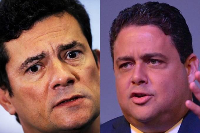 Sergio Moro e Felipe Santa Cruz