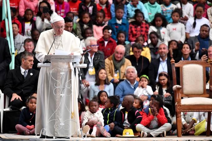 MADAGASCAR-RELIGION-CATHOLIC-POPE