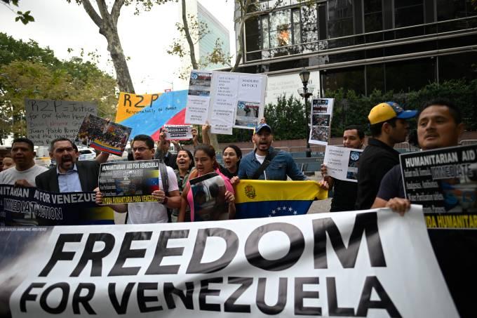 US-UN-VENEZUELA-PROTEST