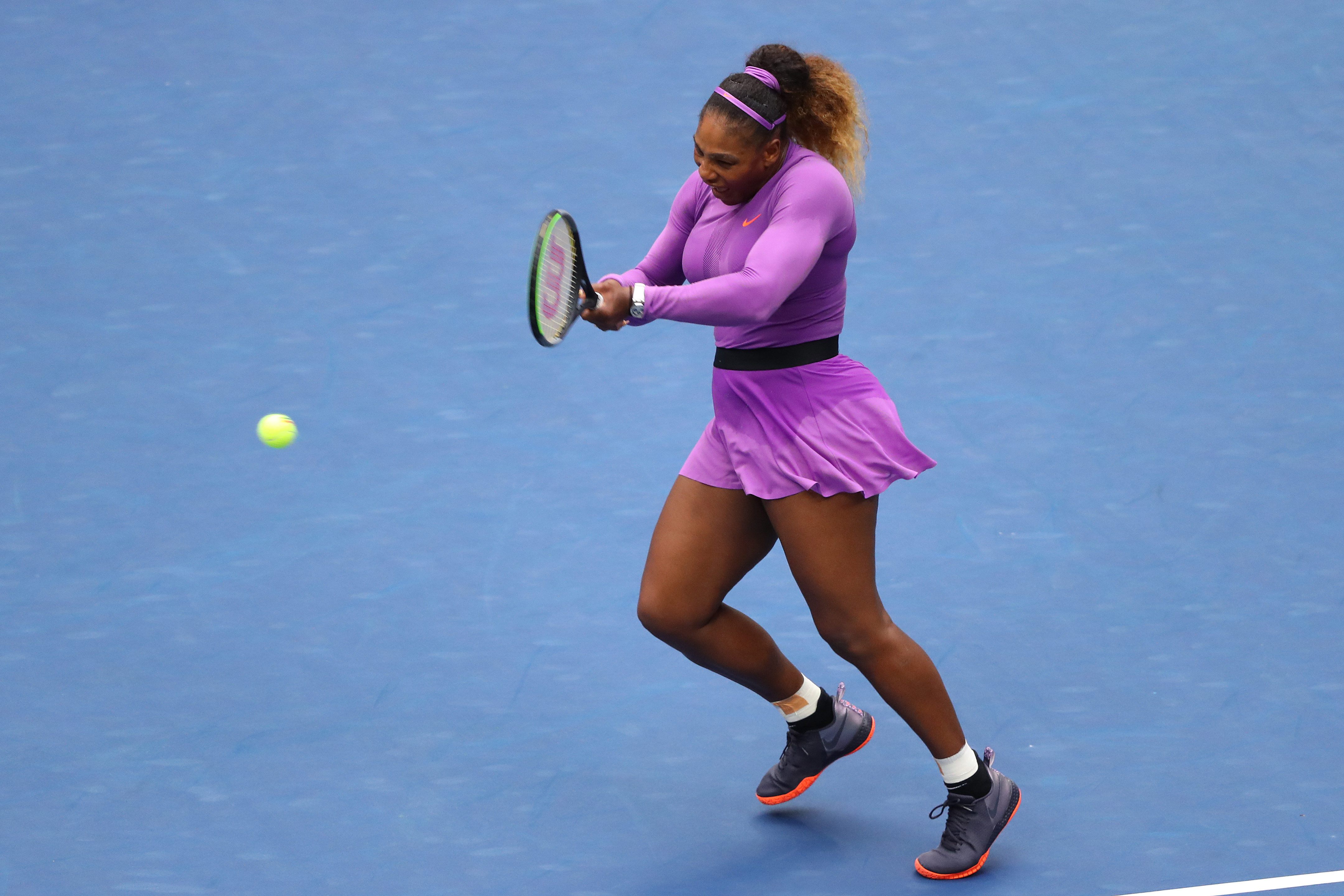 Serena Williams na final contra Bianca Andreescu no US Open (07/09/2019)