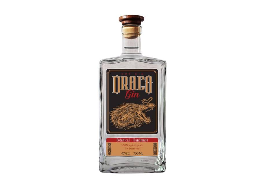 Draco - Fabricante: Draco Distillery - Ingredientes: laranja e limão - Preço: R$ 79,99