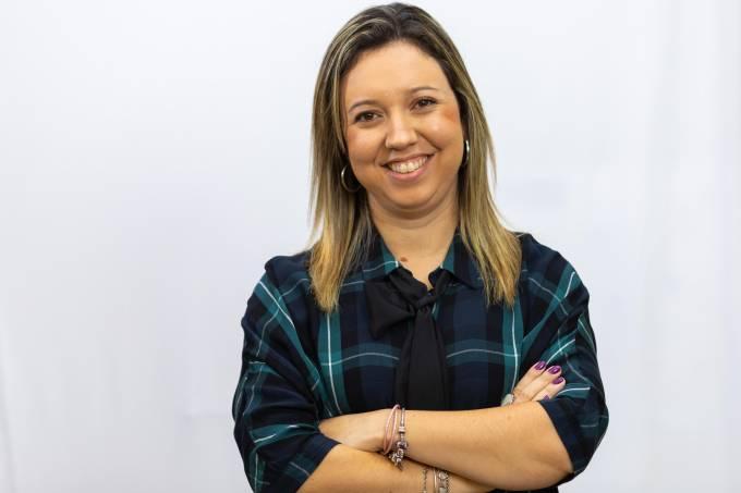 Arabelle Barbosa, vencedora do Prêmio Educador Nota 10
