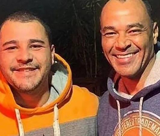 Danilo e Cafu, em foto recente postada pelo ex-jogador