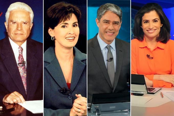 apresentadores Jornal Nacional